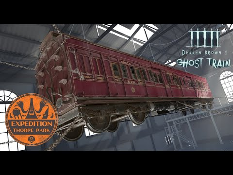 The History Of Derren Brown's Ghost Train - Thorpe Park | Expedition Theme Park
