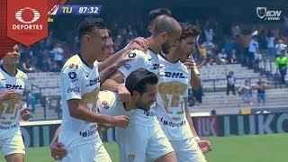 Gol de  González | Pumas 1 - 0 Tijuana | Clausura 2019 - J14 | Televisa Deportes