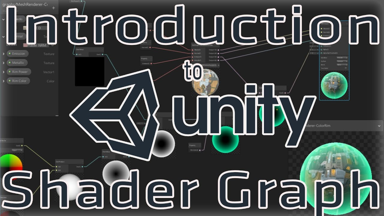 Introduction to Unity's Shader Graph