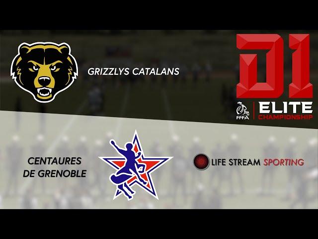[FOOT US] REPLAY | GRIZZLYS CATALANS / CENTAURES DE GRENOBLE Championnat Élite 2020