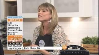 Kelly Diedring Harris presents the Elite Pressure Cooker on HSN
