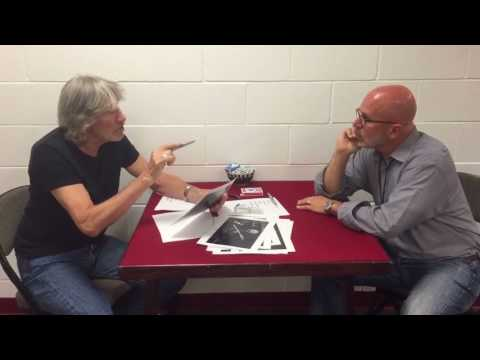 Michael Smerconish- Backstage interview with Roger Waters in Miami , July 13, 2017