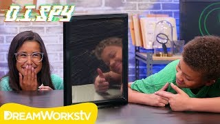 How To Spy Through A Mirror! (DIY 2-Way Mirror) | D.I.Spy