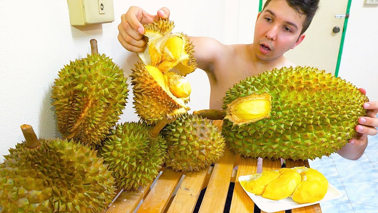 durian mukbang youtube