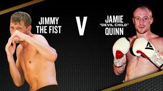 JIMMY FIRST VS JAMIE QUINN CONTENDER-VIP HILTON HOTEL MANCHESTER   BBTV