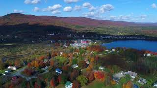 Fall Foliage Video of the Village of Island Pond, Vermont