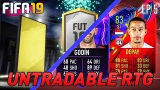 FIFA 19! THE UNTRADABLE RTG! LETS BOLSTER THE SQUADS! ROAD TO 1.5K SUBS! (PS4/XBOX)