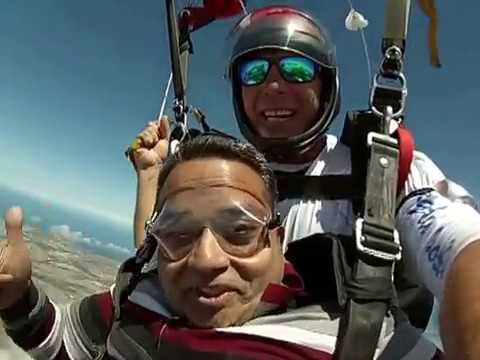 SKYDIVE MOSSEL BAY SOUTH AFRICA MANISH JAIN KOLKATA INDIA
