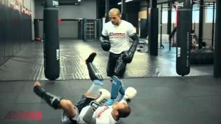 Захват ноги в тайском боксе