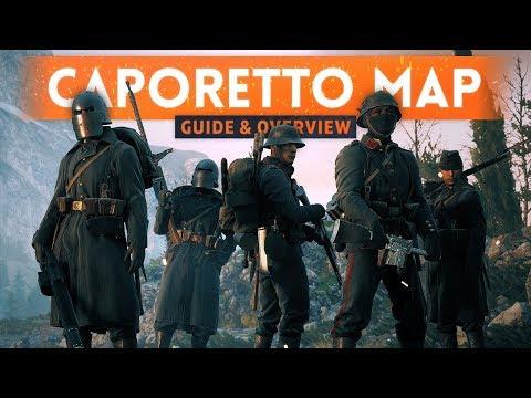 ➤ CAPORETTO MAP OVERVIEW! - Battlefield 1 Apocalypse DLC