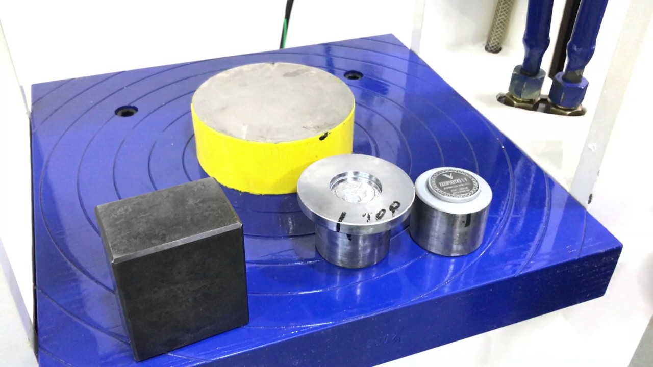 Hydraulic Press for Coin Making
