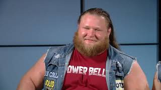 WWE superstars Otis and Tucker of Heavy Machinery talk what to expect ahead of WWE Smackdown