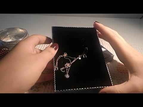 Türkçe Asmr -Takılar, tokalar,saatlerim / Turkish Asmr jewelry, whisper