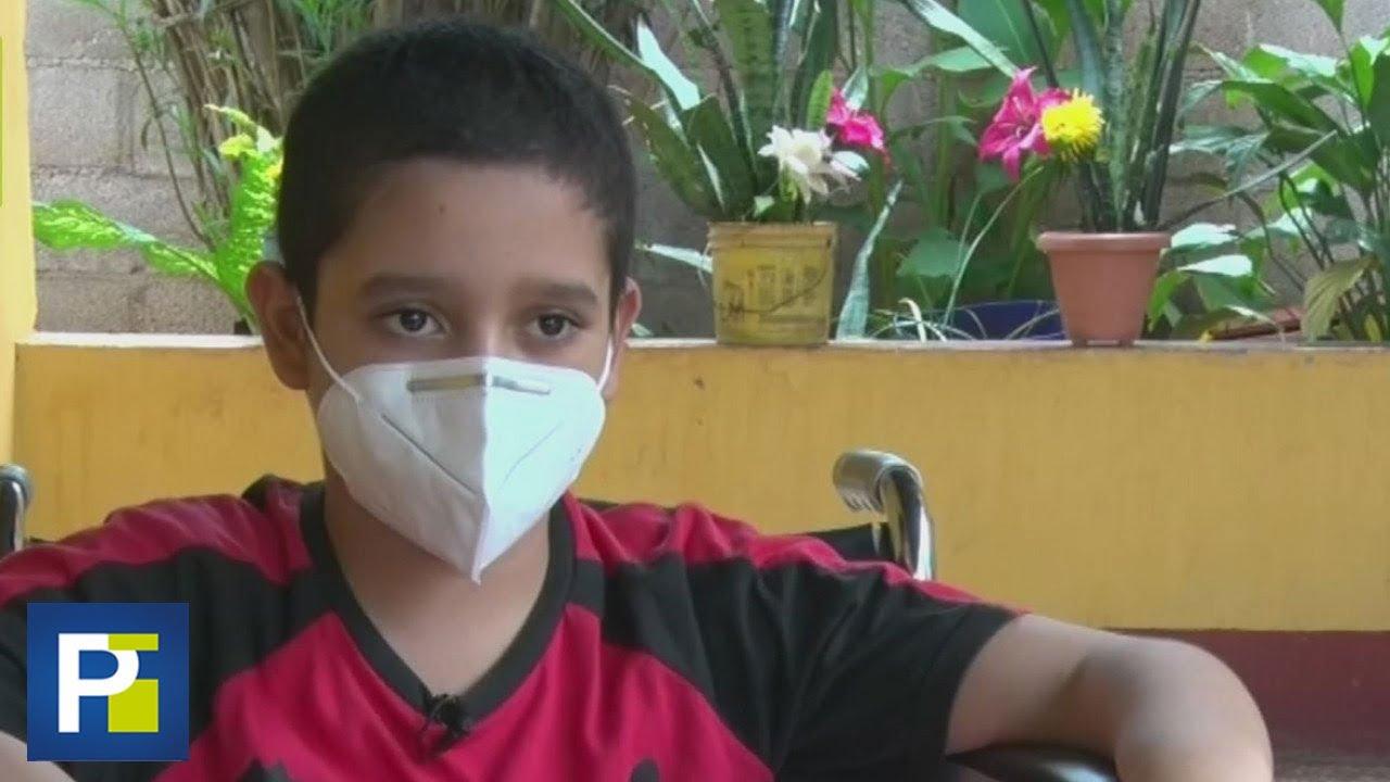 Necesita ayuda: Niño con tumor en el cerebro no tiene cómo pagar su tratamiento médico
