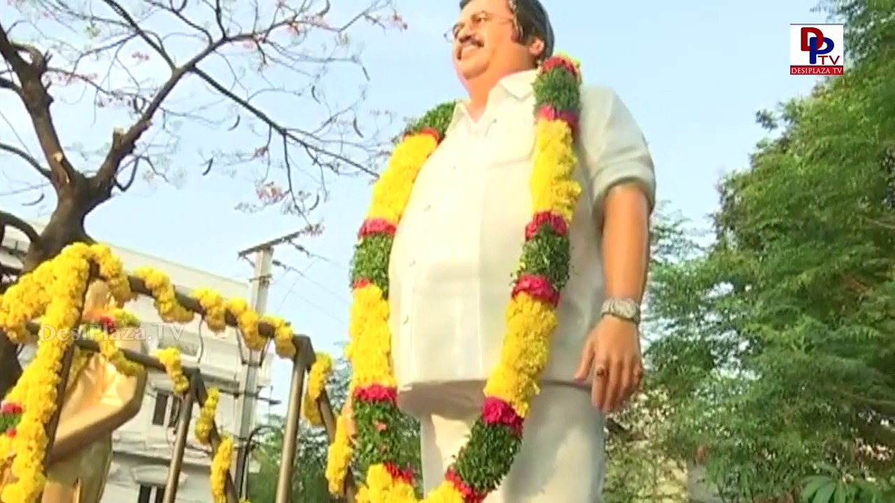 Dasari Narayana Rao statue unveiled by Super Star Krishna | May 4th - Director's Day | DesiplazaTV