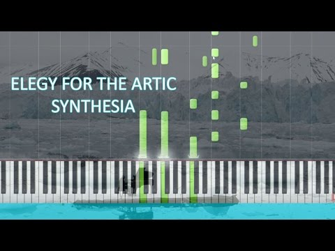 "Ludovico Einaudi - ""Elegy for the Arctic"" - Synthesia /Cover/"