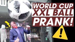 500 EURO XXL BALL PRANK (WORLD CUP EDITION)
