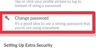 Facebook || How To Change Facebook Password In Android