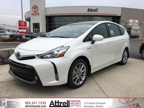 2017 Toyota Prius V Technology Package