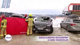 Egész Európán végigsöpört a Ciara viharciklon
