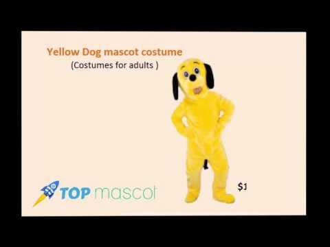 Cat and Dog Mascot Costumes