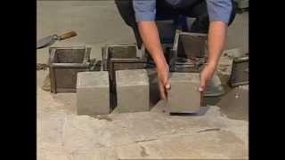 Compressive Strength of Cement Concrete Cubes