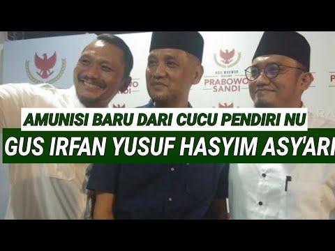 JUBIR BARU PRABOWO CUCU KH HASYIM ASY'ARI PENDIRI NU;TEBU IRENG;JOMBANG JAWA TIMUR;PILPRES 2019