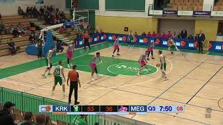 3-point shooting show by Paolo Marinelli (Krka - Mega Bemax, 18.11.2018)