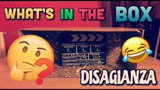DISAGIANZA-WHAT'S IN THE BOX CHALLENGE