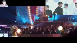 Download Video EXO & BTS REACTION DURING SEVENTEEN PERFORMANCE AT MELON MUSIC AWARDS + CHANYEOL SHOCKED 161119 MP3 3GP MP4