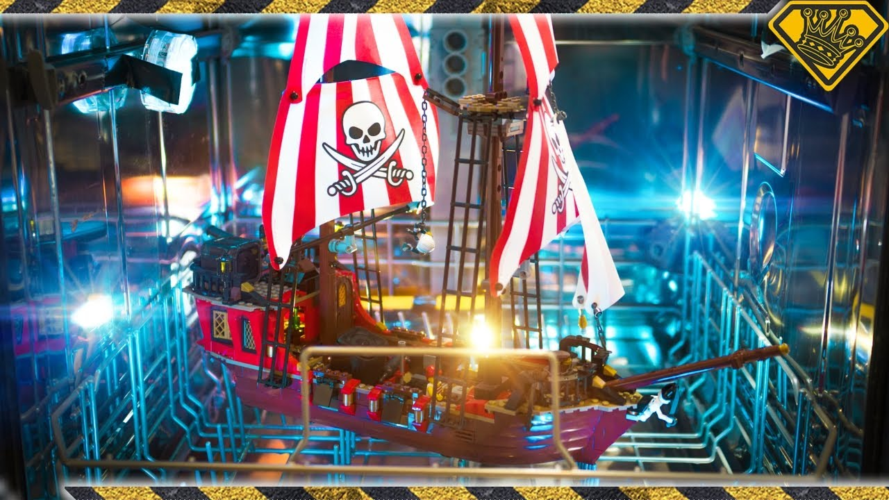 "Can a Lego Pirate Ship Survive a ""Storm in a Box""?"