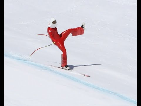 High Speed Ski Crash over 200kph (120mph) Juanki Sanchez