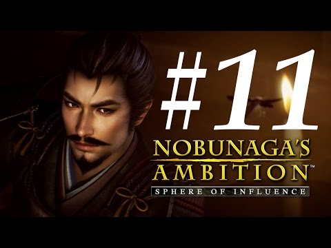 Nobunaga's Ambition: Sphere of Influence Let's Play - Part 11: Fall of Kannonji