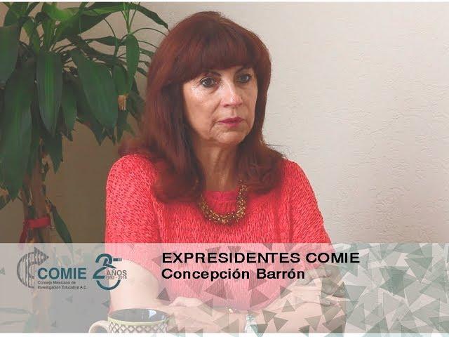 Expresidentes COMIE: Concepción Barrón