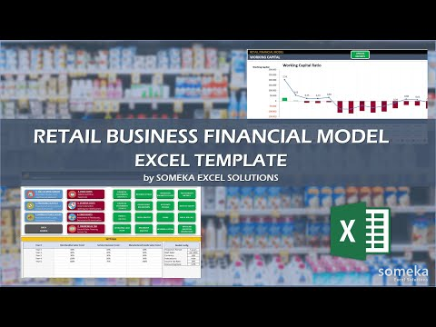 Retail Business Financial Model Excel Template | Make Financial Analysis in Excel
