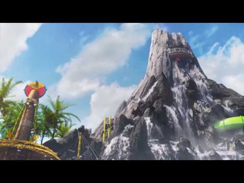 Full Volcano Bay Water Theme Park Overview & Challenge