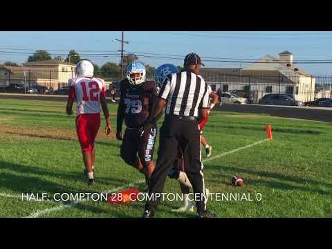 High School Football: Compton Vs. Compton Centennial