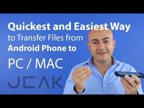 Quickest And Easiest Way To Transfer Files From Android Phone To PC Or MAC