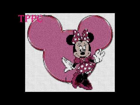 Patrones Exclusivos Mickey Y Minnie Mouse IV | Patrones Exclusivos Punto De Cruz