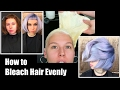 How to Bleach Hair Evenly