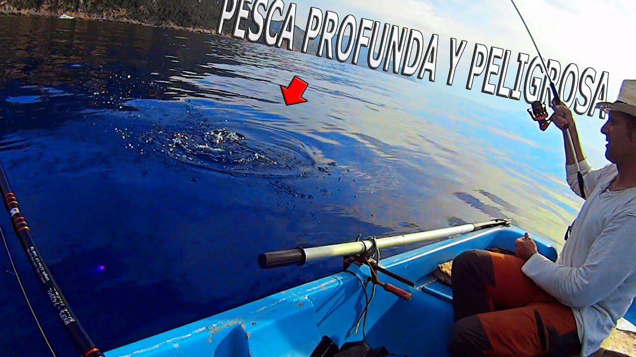 PESCA PROFUNDA Y MUY PELIGROSA!! Sacamos el pez mas venenoso del MEDITARRANEO!!