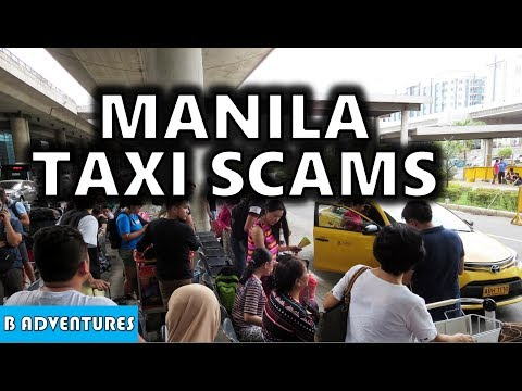 Manila Airport Taxi Scam on Camera, Philippines S3, Vlog #123