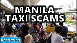 NAIA T3 Taxi Scam Manila Airport Philippines S3, Vlog 123