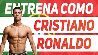 RUTINA DE CRISTIANO RONALDO | ENTRENA COMO CR7 | The Fit Club
