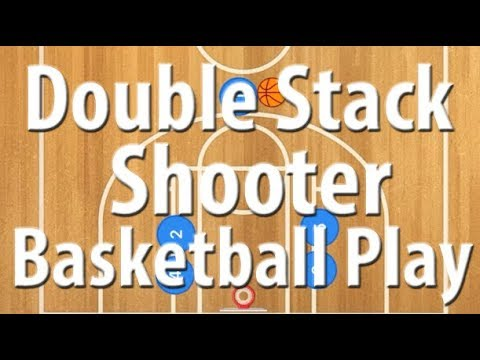 Double Stack Shooter Play | Double Stack Basketball Offense