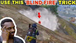 USE THIS 'BLIND-FIRE' TRICK TO WIN 1v1 EASILY • (15 KILLS) • PUBG MOBILE HINDI