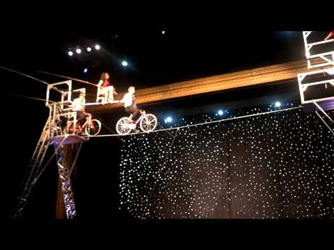 The Fabulous Wallenda Family Circus Tightrope Act