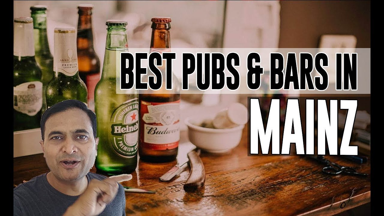 Best Bars Pubs & hangout places in Mainz, Germany - YouTube