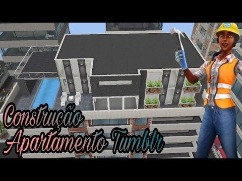 Tutorial de Construção APARTAMENTO TUMBLR - The sims freeplay