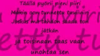 Haloo Helsinki! - Jos mun pokka pettää (lyrics)
